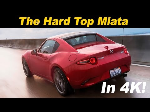 2017 Mazda MX 5 RF Hard Top Review and Road Test DETAILED in 4K UHD