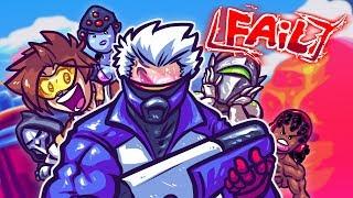 RACISTWATCH, OVERWATCH FAIL!! Parody of Overwatch