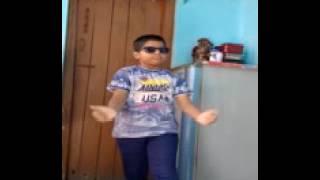Tejash dancing on song Superman (Zorawar)