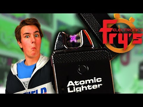Atomic Lighter Fry s 5 Minute Speed Shopping