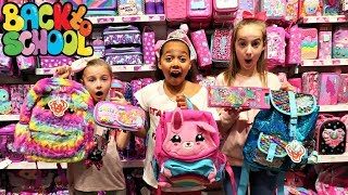 BACK TO SCHOOL SHOPPING! Smiggle School Supplies - Claire's Haul JoJo Bows | Toys AndMe
