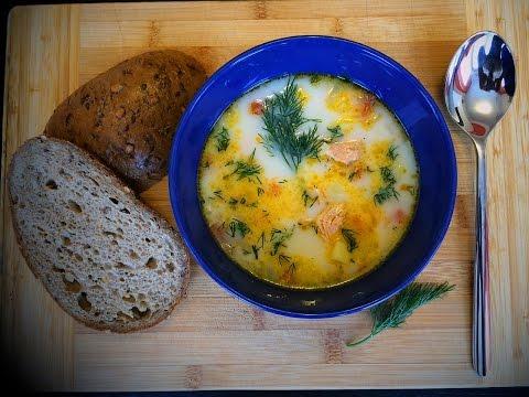 Супы с рыбойы с фото простые и вкусные