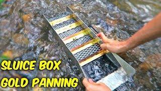 Sluice Box - Gold Panning