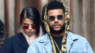 Selena Gomez & The Weeknd Kissing In Public - VIDEO
