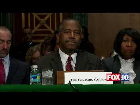 FULL VIDEO Ben Carson Confirmation Hearing Trump Housing & Urban Development HUD Secretary