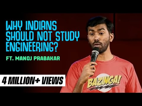 Xxx Mp4 Why Indians Should NOT Study Engineering Stand Up Comedy By Manoj Prabakar 3gp Sex