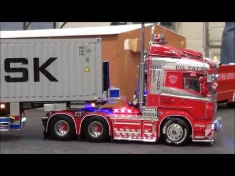 RC Trucks Leyland Tamiya. Scania Mercedes Volvo MAN Scaleart Wedico Carson Servonaut