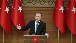 """أردوغان يعتبر طلب إغلاق القاعدة التركية في قطر """"عدم احترام"""" لبلاده"""