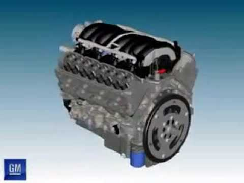 videos 3d de motores de autos