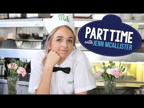 JennXPenn Learns To Waitress | Part Time W/ Jenn McAllister