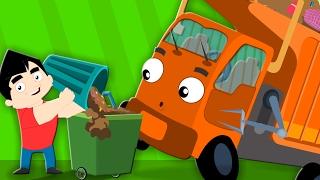 Wheels On The Garbage Truck | Nursery Rhymes | Childrens Songs | Baby Rhymes | Kids Videos Kids Tv