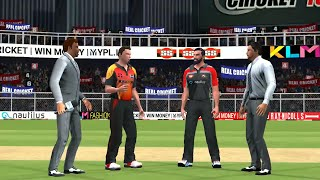 17th May IPL 11 Royal Challengers Bangalore Vs Sunrisers Hyderabad Real cricket 2018 mobile Gameplay