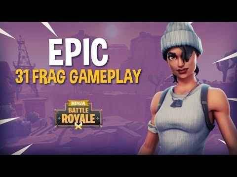Tilted Towers EPIC 31 Frag Game Fortnite Battle Royale Gameplay Ninja