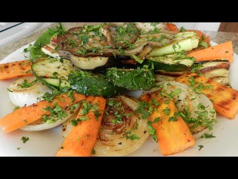 Как сделать овощи на гриле вкусно