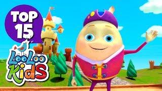Humpty Dumpty - TOP 15 Songs for Kids on YouTube