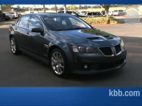 2009 Pontiac G8 GXP Interview  - Kelley Blue Book