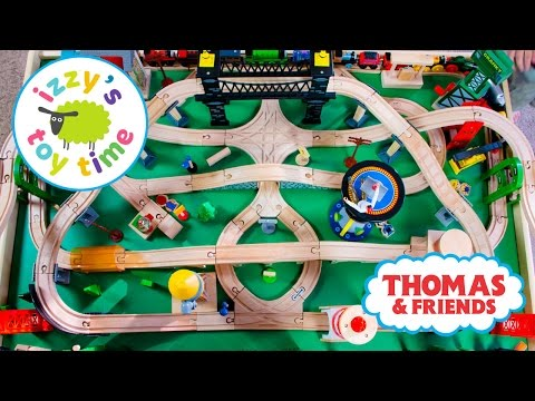 Thomas and Friends Thomas Train Naptime Track with Brio and Imaginarium Toy Trains 4 Kids