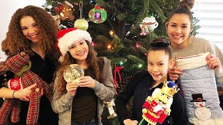 Decorating For Christmas With The Haschak Sisters!