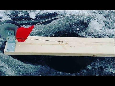 How to build a TiP UP for ICE FISHING from scratch.