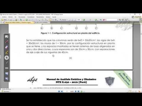 VÍDEO N°01 -  MODELAMIENTO DEL EDIFICIO [MAED-Perú] AHPE