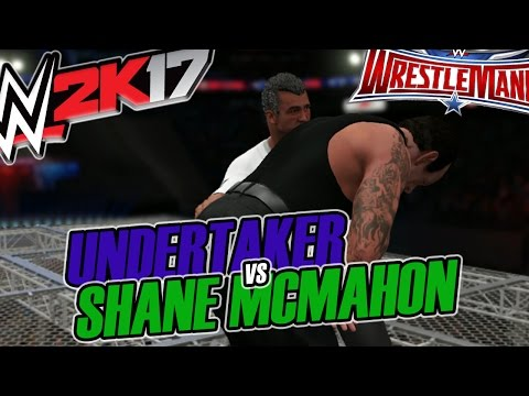 WWE 2K17 - Undertaker vs Shane McMahon - Wrestlemania 32 [Hell In a Cell Gameplay]