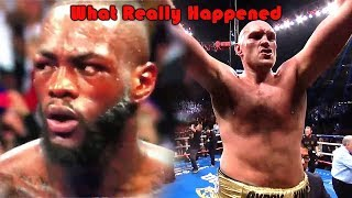 What Really Happened (Deontay Wilder vs Tyson Fury)