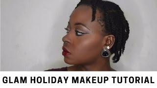 Glam Holiday Makeup Tutorial | OmogeMuRa