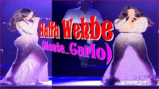 Haifa Wehbe ᴴᴰ ♥ Monte Carlo ♥ Presque Nue, Robe Transparente Moulante