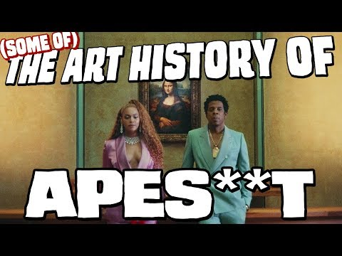 (some of) The art history of APES**T - THE CARTERS (Beyoncé & Jay-Z) || Discussion & analysis