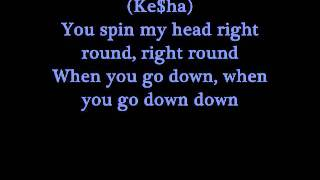 Flo Rida-Right round with lyrics (SONG REALLY IS NOT BLOCK BY COPYRIGHT!!!)