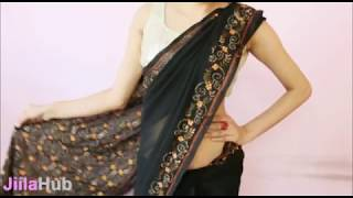 How To Wear Saree Perfectly:Wrap Sari Step By Step In A perfect Way