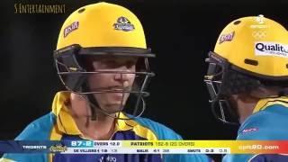 AB de Villiers Best Shots @CPLT20 !!!! 2016