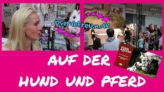 Hund und Pferd Messe [ Pferde Freu.n.de ] Pummeleinhorn und Filmpferd