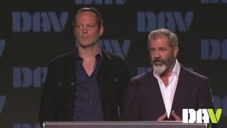 Mel Gibson & Vince Vaughn speak about veterans and Hacksaw Ridge at DAV