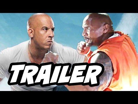 Fast and Furious 8 Trailer Vin Diesel vs The Rock Breakdown