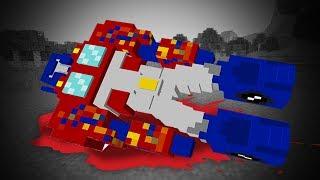 TRANSFORMERS OPTIMUS PRIME DIES!   TRANSFORMERS MINECRAFT MOD   Transformer The Last Knight