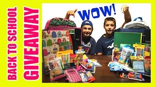 CLOSED - WOW! BACK TO SCHOOL GIVEAWAY 2016