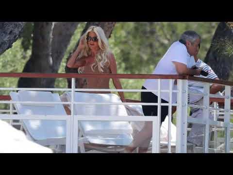 Xxx Mp4 Victoria Silvstedt In Black Bikini At A Pool In Antibes 3gp Sex