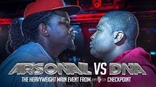 ARSONAL VS DNA | Don't Flop Rap Battle