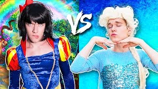 The Disney Princess In Real Life Challenge