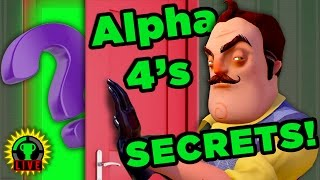 Uncovering the SECRETS of ALPHA 4! | Hello Neighbor (Part 2)
