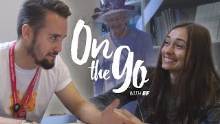 On the go with EF #34 – British vs. American English with Maria & Daniel