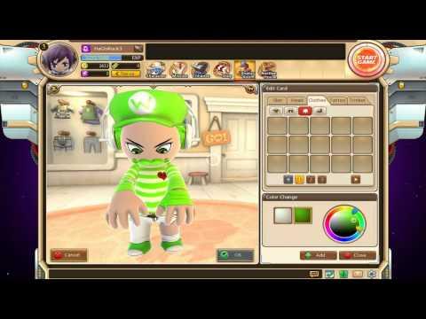 Avatar Star-Card Creation [Mario Super Green] !!!
