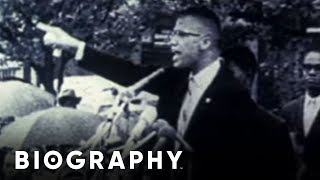 Malcolm X - Civil Rights Activist | Mini Bio | BIO