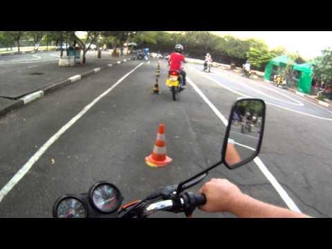 Percurso DETRAN SP Moto