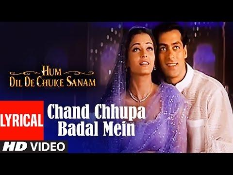 Xxx Mp4 Chand Chhupa Badal Mein Lyrical Video Hum Dil De Chuke Sanam Salman Khan Aishwarya Rai 3gp Sex