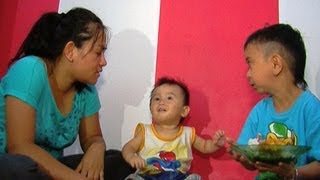 Kegembiraan Keluarga Daus Mini Rumah Baru - Intens 18 Juli  2013