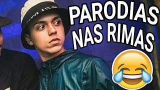 PARODIAS NAS BATALHAS DE RIMAS!!!!!!