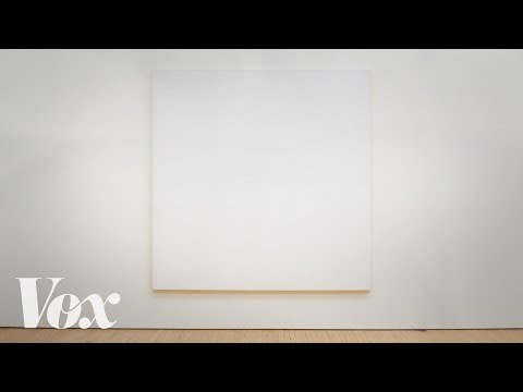 Why these all white paintings are in museums and mine aren t