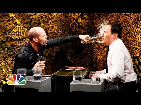 Water War with Jason Statham Late Night with Jimmy Fallon